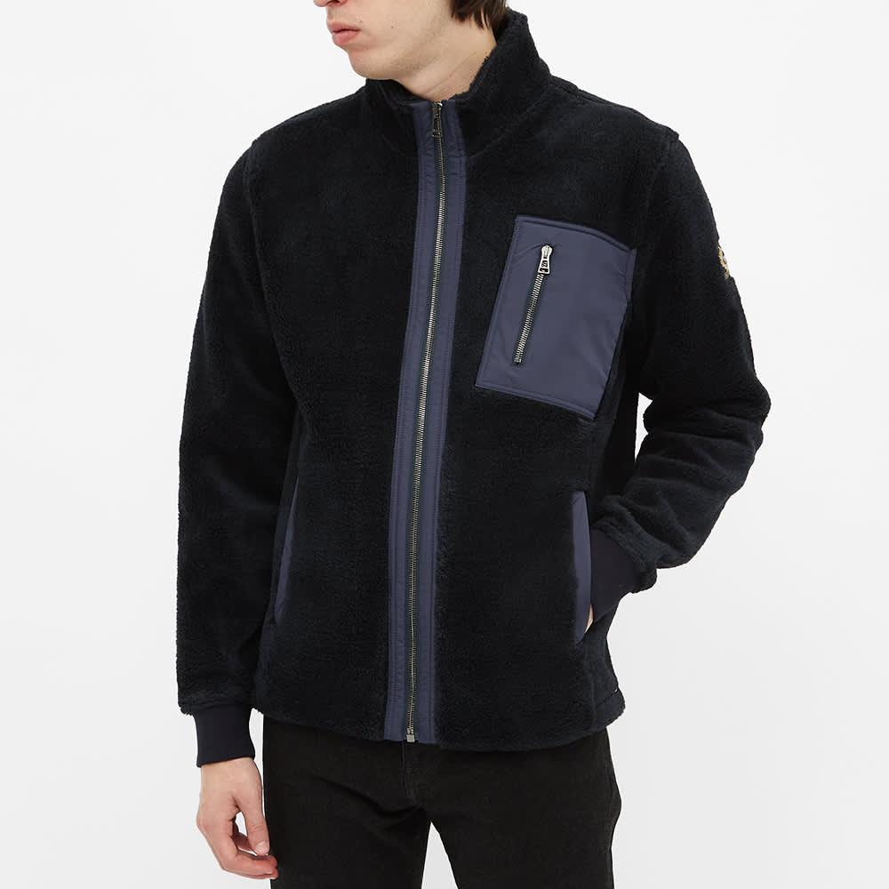 Belstaff Herne Storm Fleece Jacket - Navy