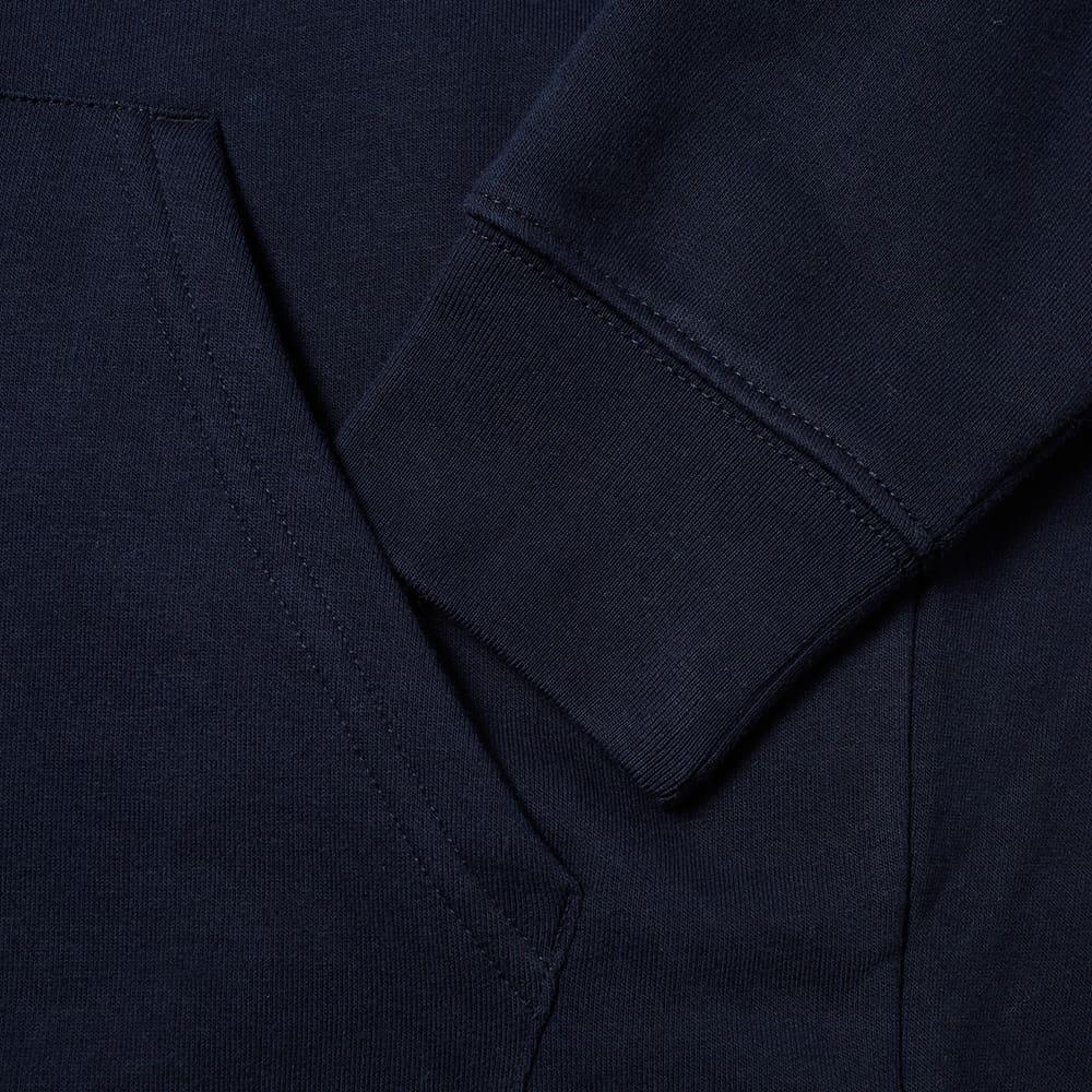Harmony Curve Logo Popover Hoody - Navy