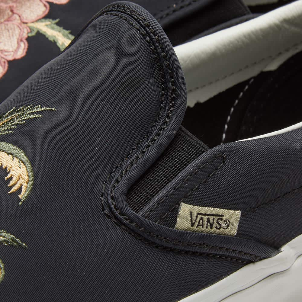 Vans Classic Slip On DX - California Souvenir Black