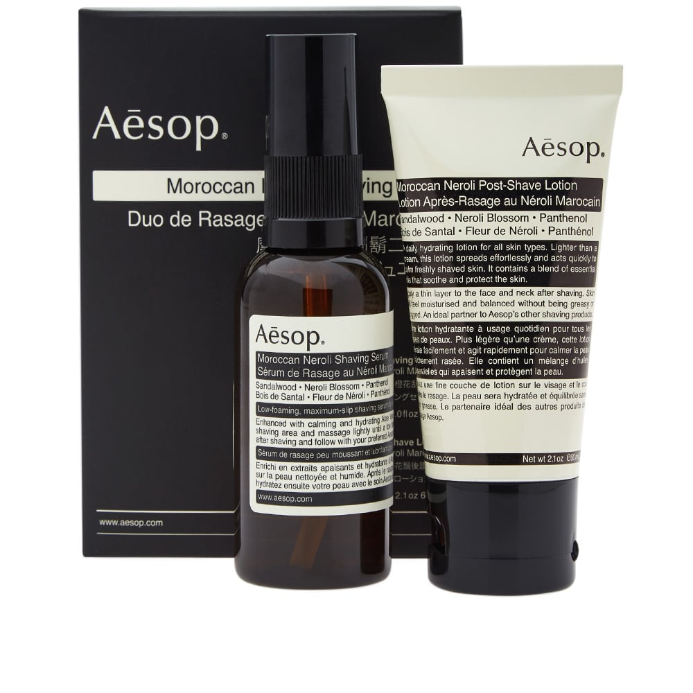 Aesop Moroccan Neroli Shaving Duet - N/A