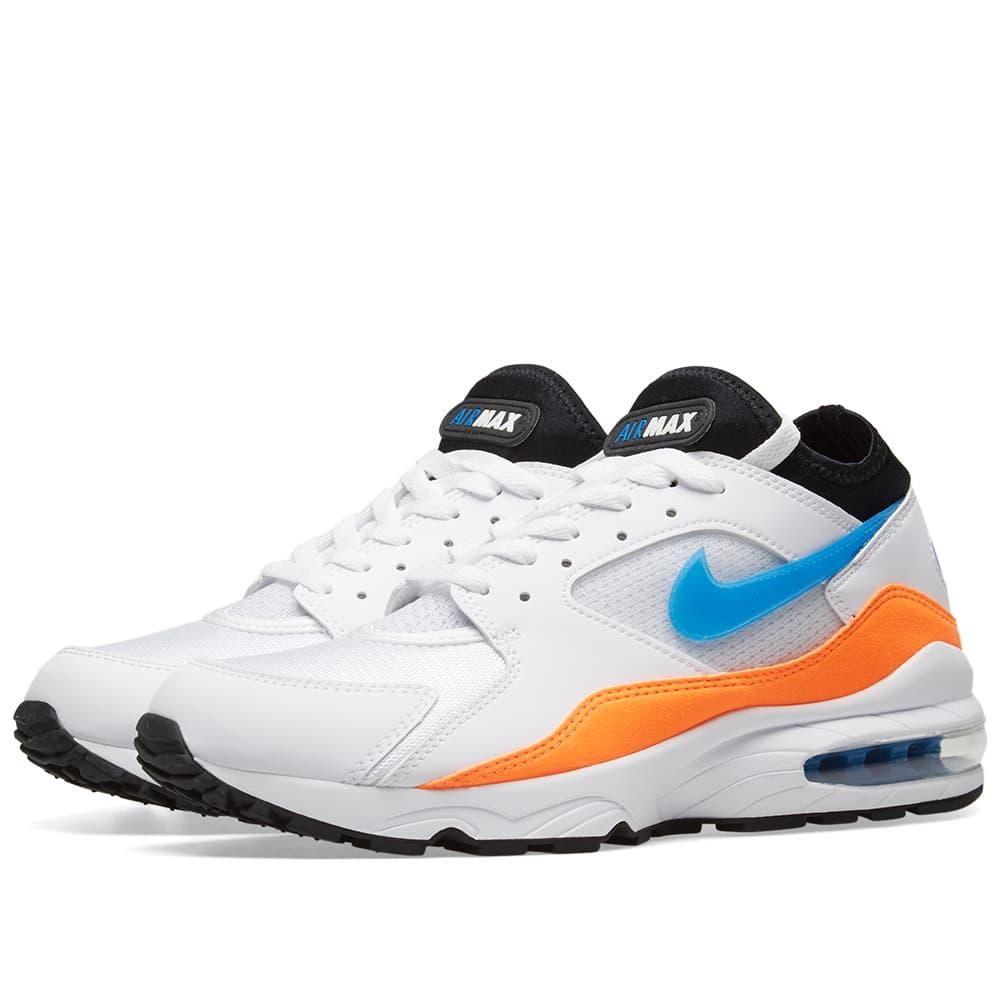 Nike Air Max 93 White, Blue Nebula