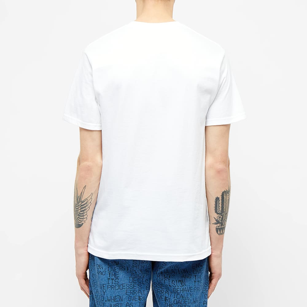 Know Wave Anxiety Logo Tee - White