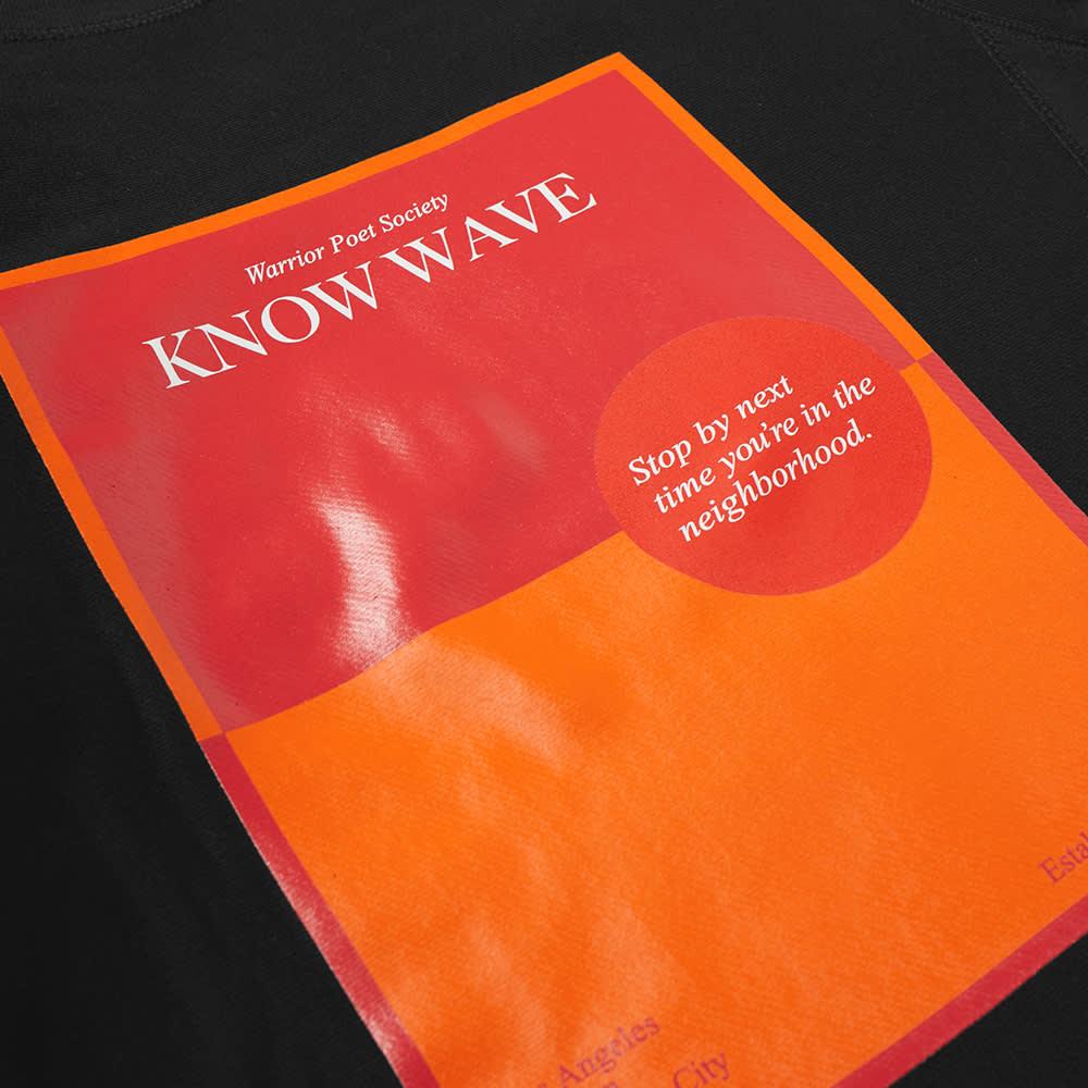 Know Wave Warrior Poet Society Crew Sweat - Black