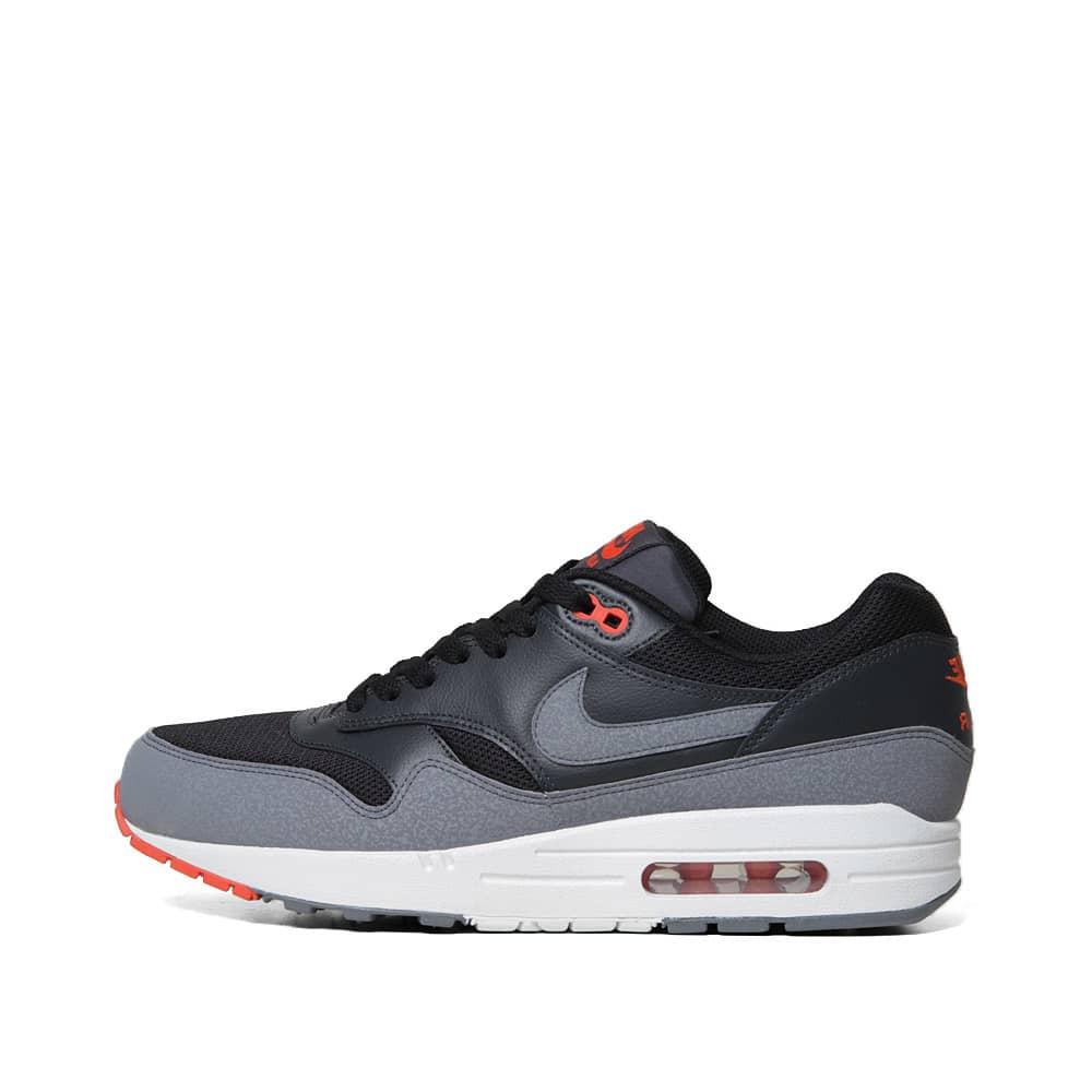 Nike Air Max 1 Essential  - Pre Order - Black, Cool Grey & Team Orange