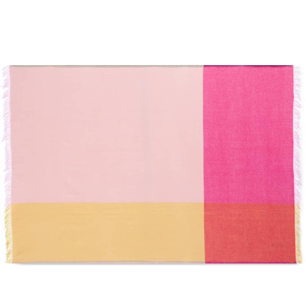 Vitra Hella Jongerius 2016 Colour Block Blanket - Pink & Beige