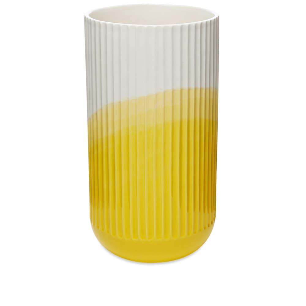 Vitra Raw-Edges Herringbone Vase - Yellow