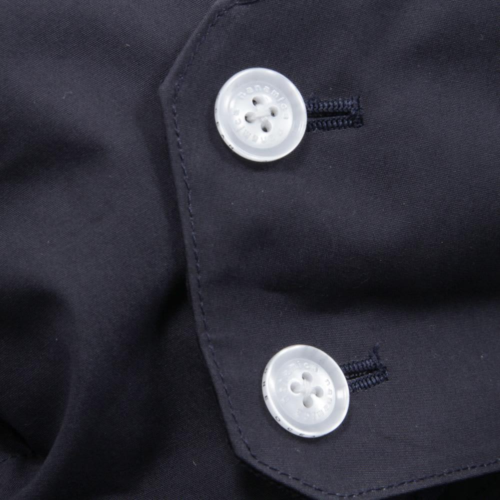 Nanamica Gore-Tex Soutien Collar Coat - Marine Navy