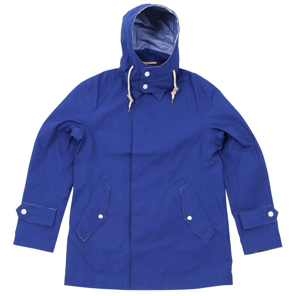Nanamica Gore-Tex Soutien Collar Coat - Royal Blue
