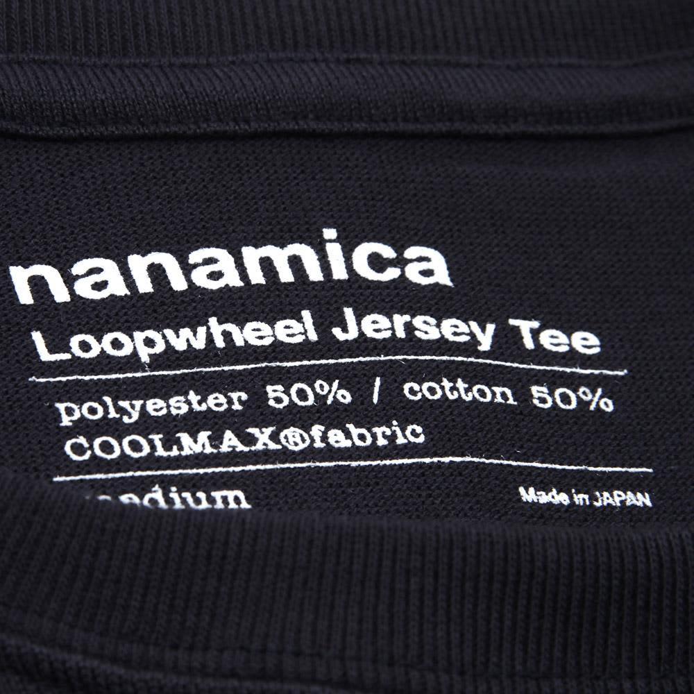 Nanamica COOLMAX Loopwheel Jersey Tee - Navy
