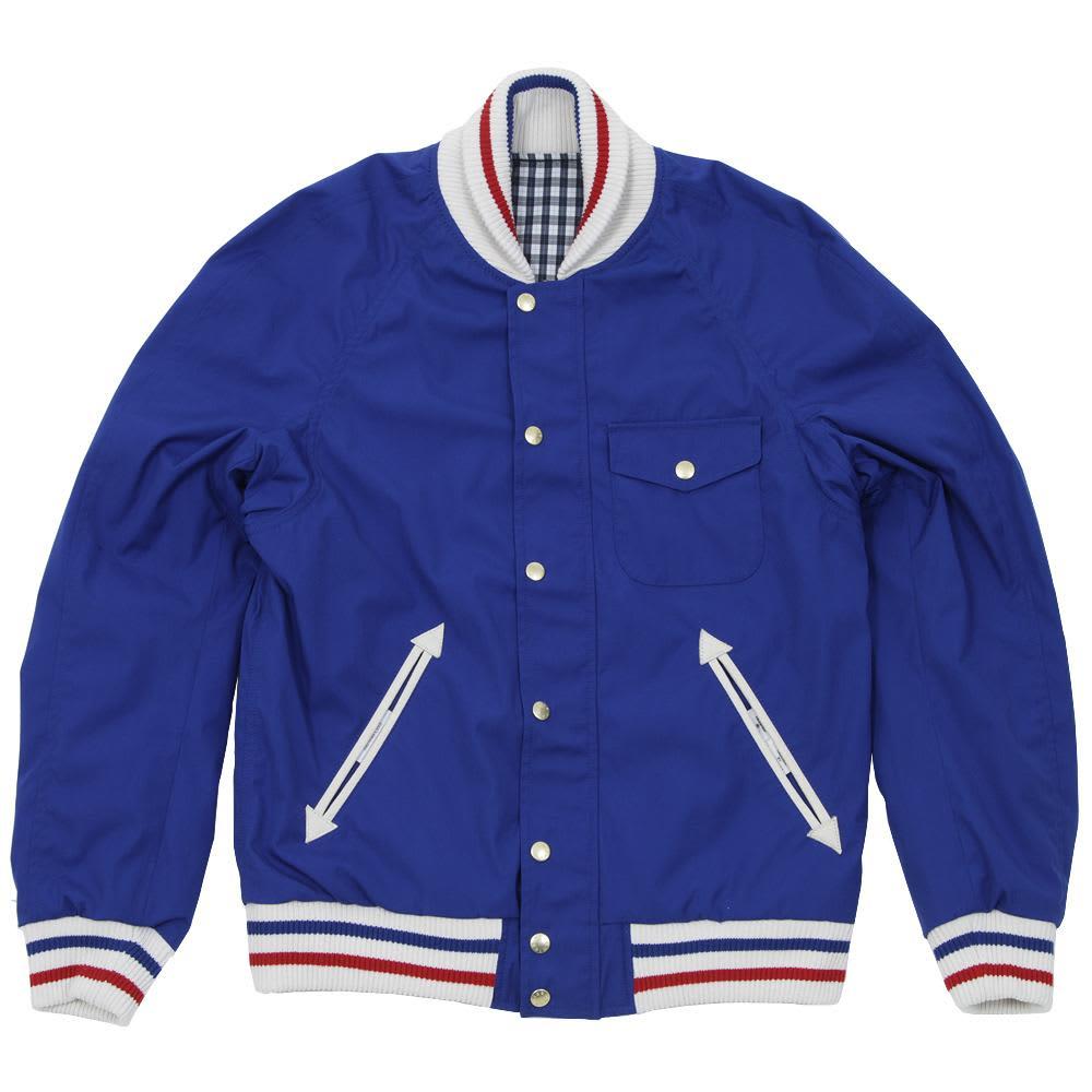 Nanamica 65/35 Reversible Varsity Jacket - Azurite Blue