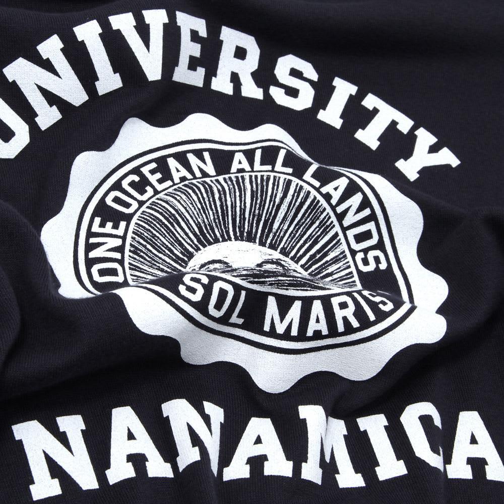 Nanamica COOLMAX Loopwheel Graphic Tee - Navy