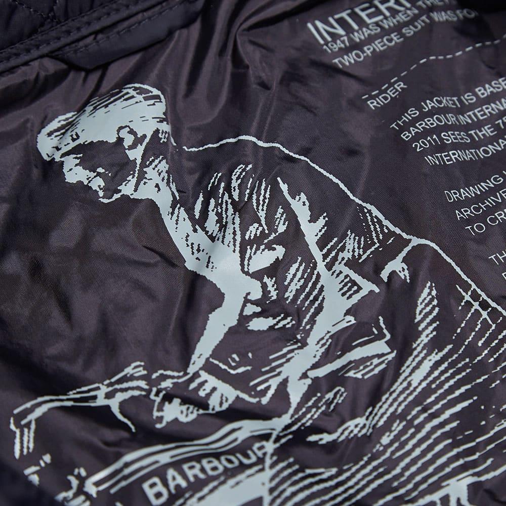 Barbour International Ariel Quilt - Navy