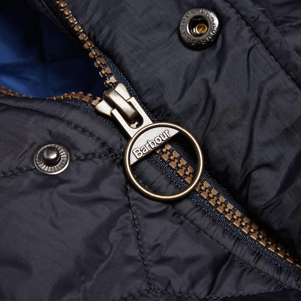 Barbour Flyweight Chelsea Sportsquilt - Navy & Atlantic Blue