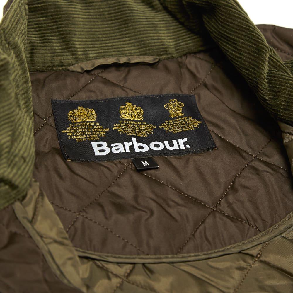 Barbour Chelsea Sportsquilt - Olive