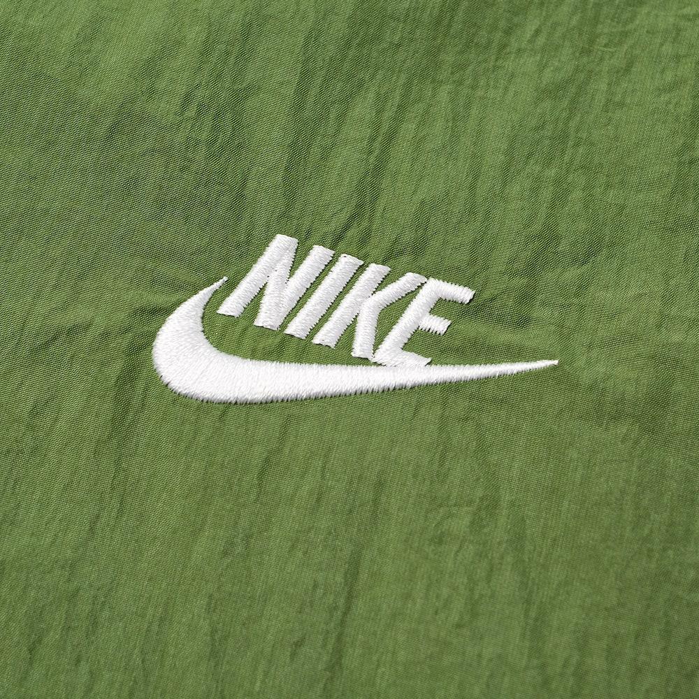 Nike Retro Woven Anorak - Treeline & White
