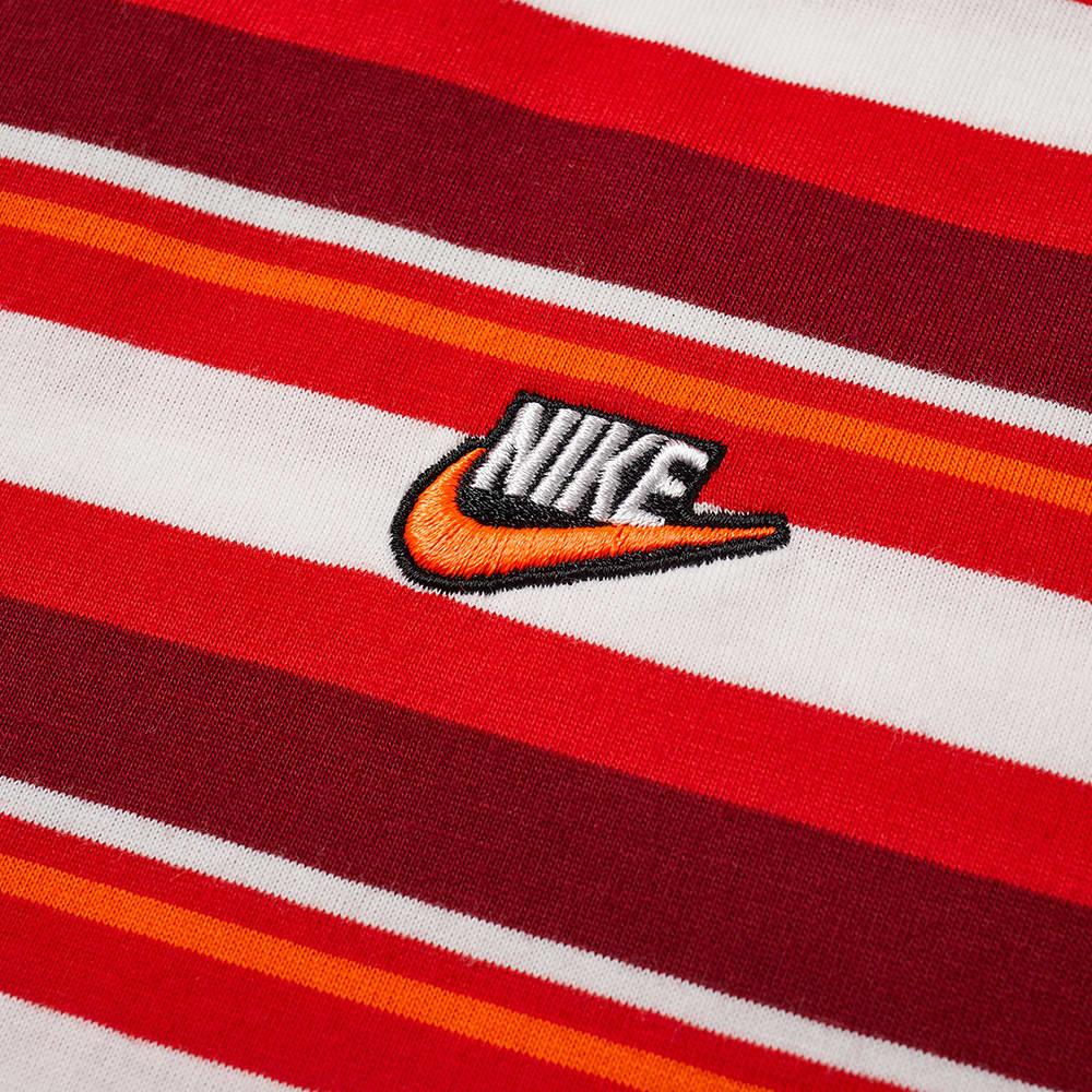 Nike Stripe Tee - University Red