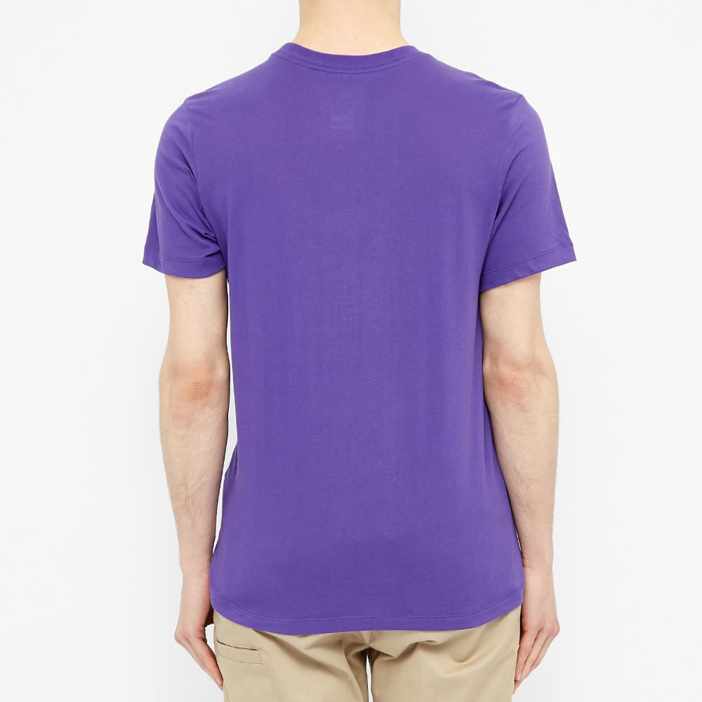 Nike SB Dri-Fit Logo Tee - Purple & Laser Blue