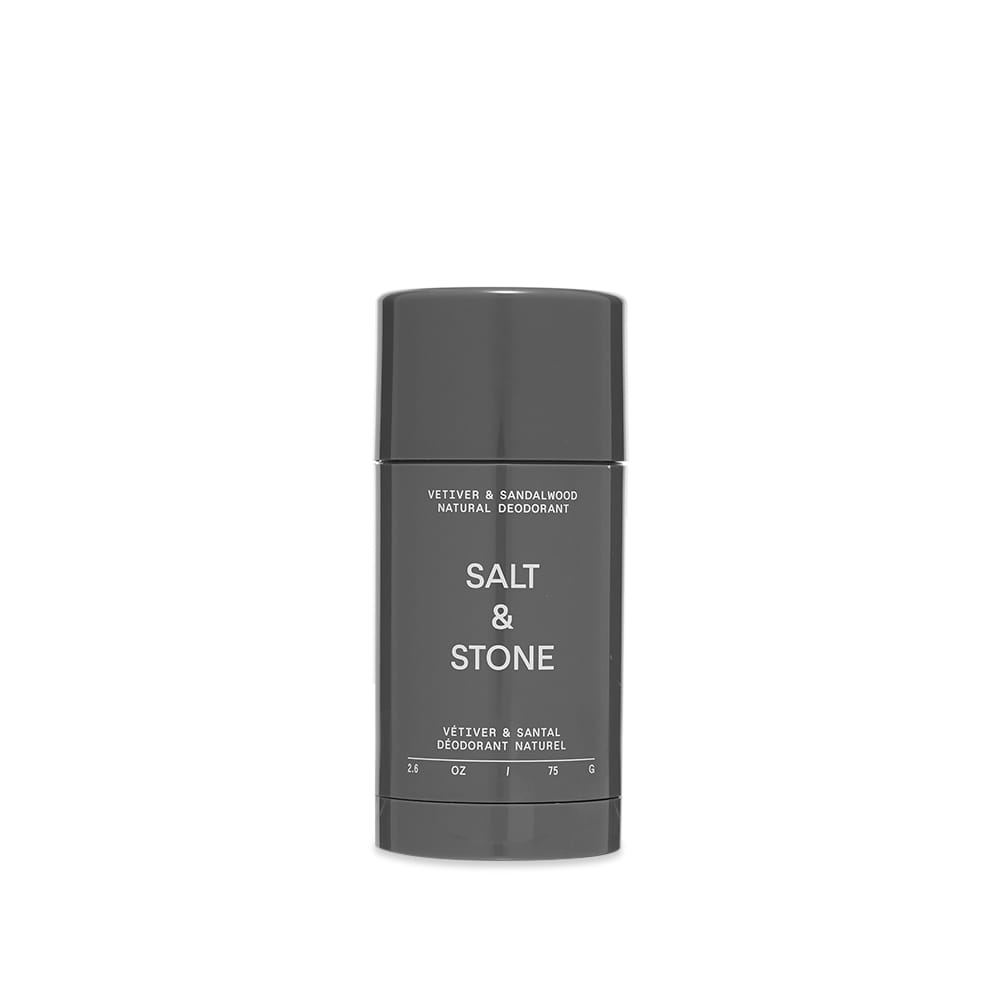 Salt & Stone Vetiver & Sandalwood Natural Deodorant (Sensitive Skin) - 75G