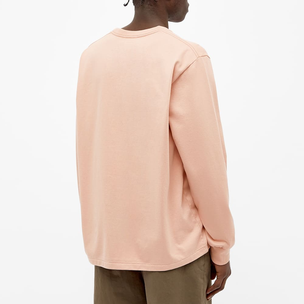 Nanamica Long Sleeve Pocket Tee - Light Pink