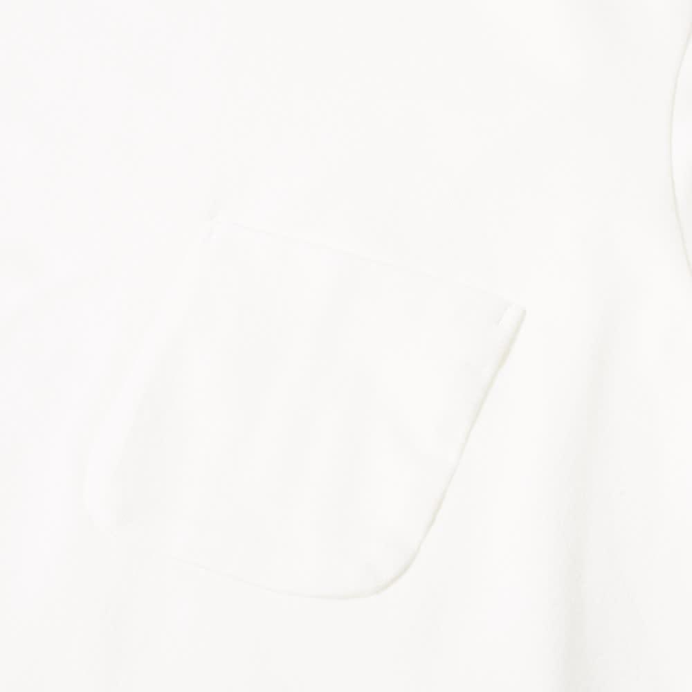 Nanamica Long Sleeve Pocket Tee - Off White