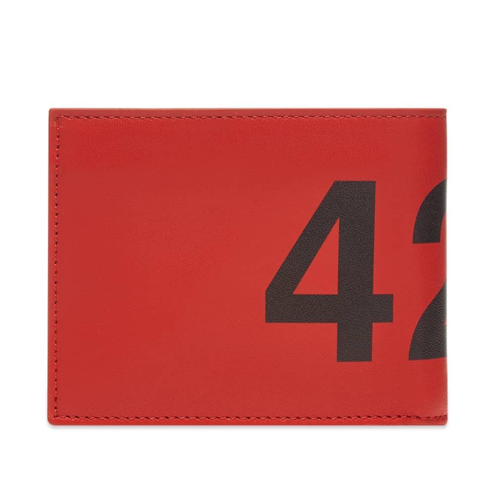 424 Logo Fold Wallet - Red