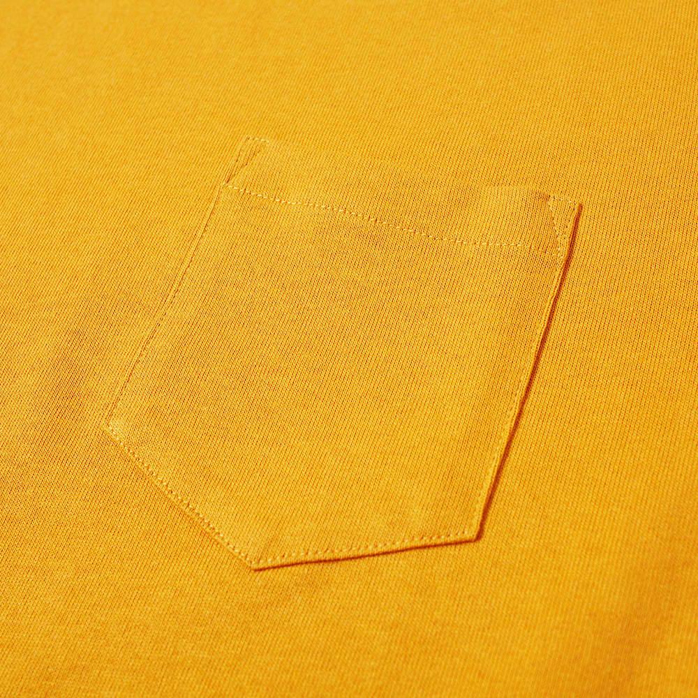Norse Projects Johannes Pocket Tee - Cadmium Orange