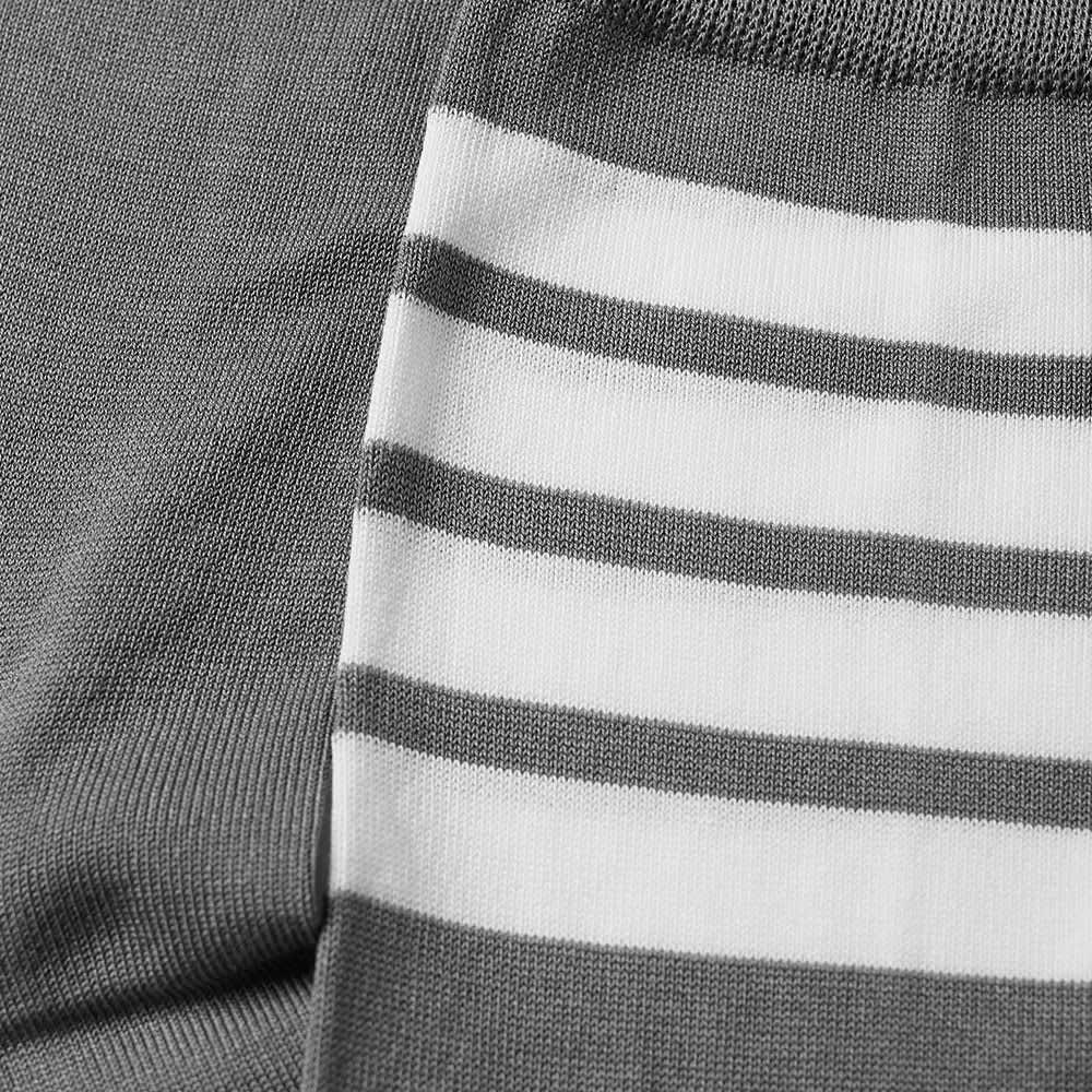 Thom Browne 4 Bar Mid Calf Sock - Medium Grey