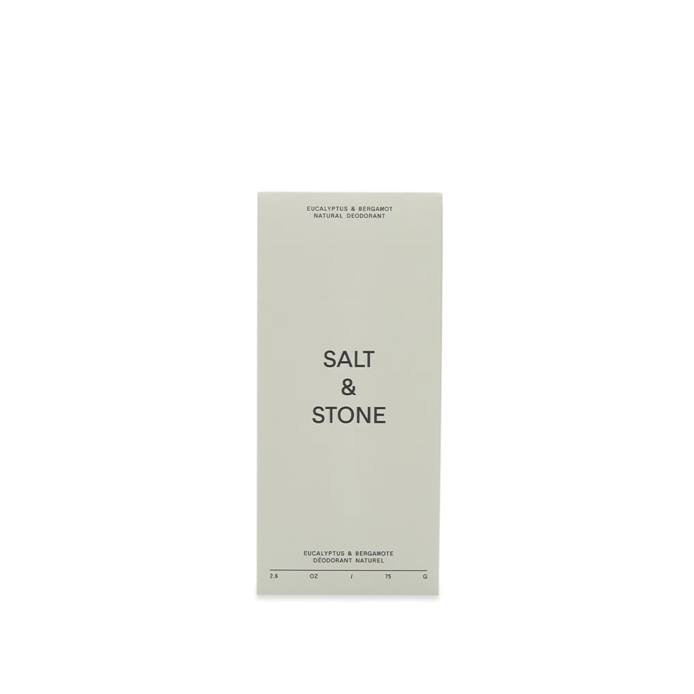 Salt & Stone Eucalyptus, Pink Grapefruit & Bergamot Natural Deodorant (Sensitive Skin) - 75G