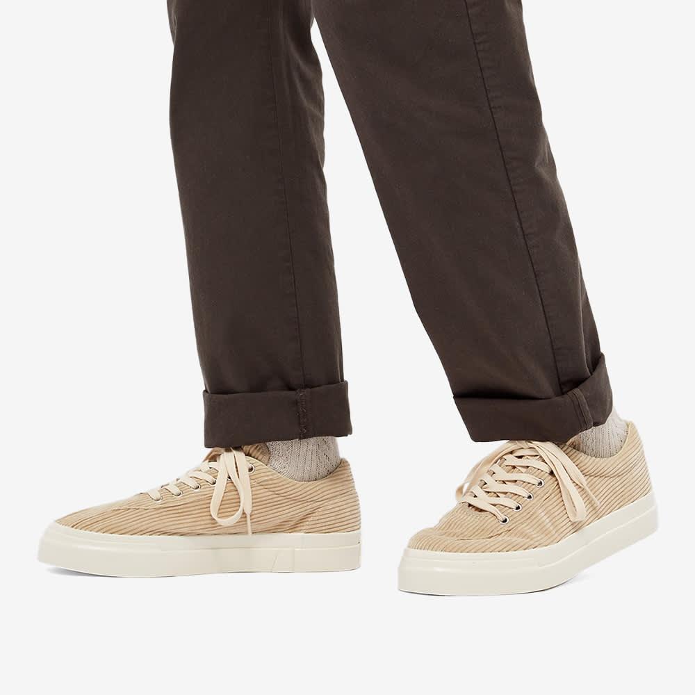 Stepney Workers Club Dellow Cord Sneaker - Ecru