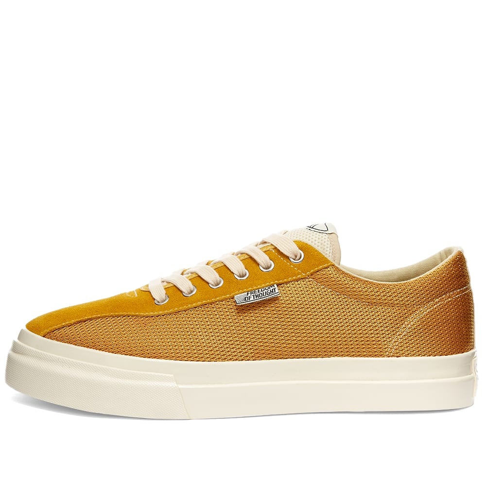 Stepney Workers Club Dellow Track Mesh Sneaker - Yellow