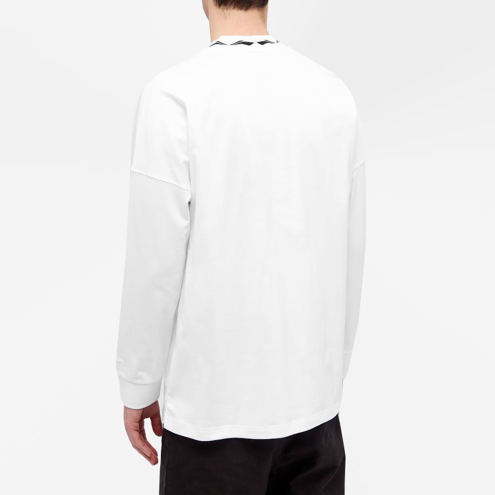 Li-Ning Logo Collar Ls Tee - White