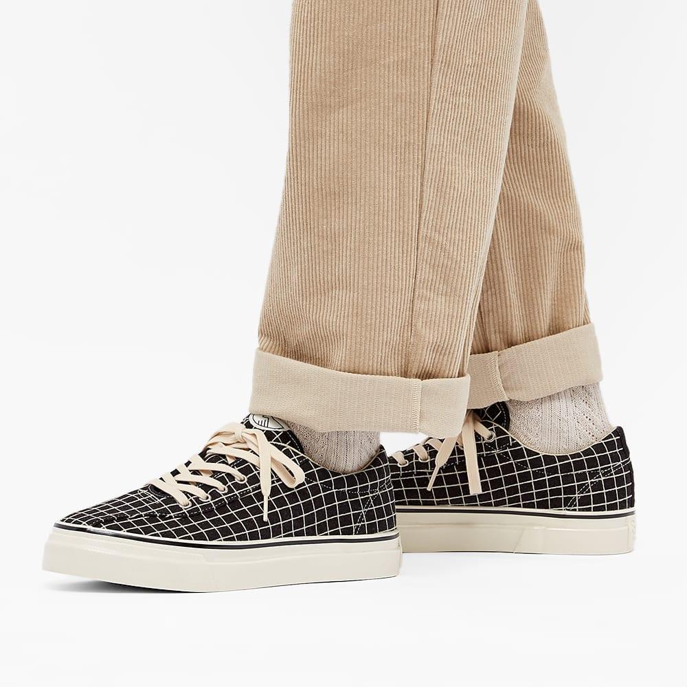 Stepney Workers Club Dellow Sport Grid Sneaker - Black