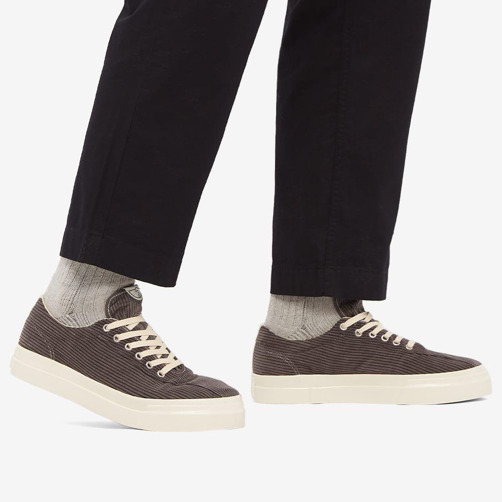 Stepney Workers Club Dellow Cord Sneaker - Grey