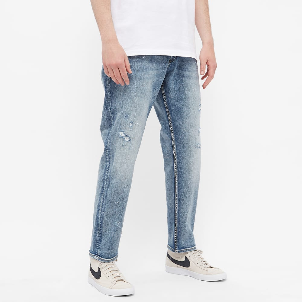 Denham Crop Slim Jeans - Blue