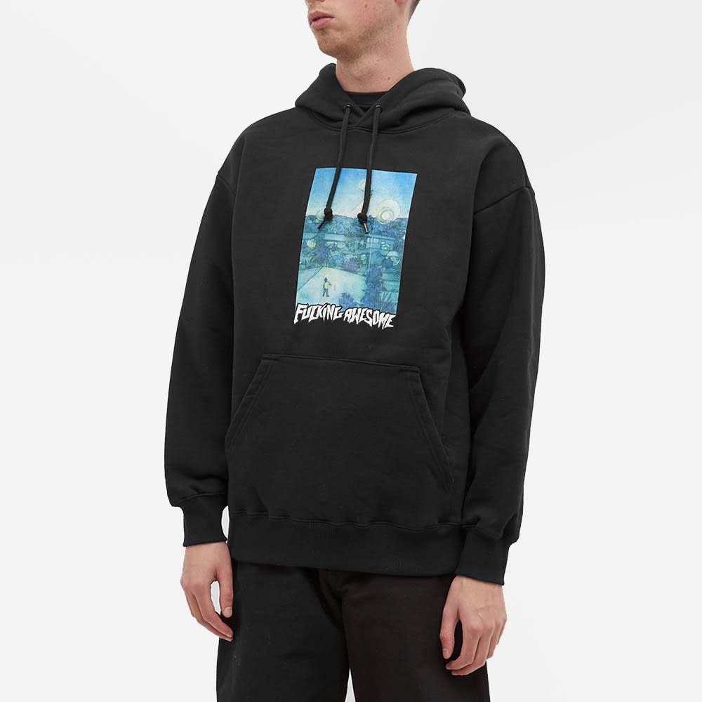 Fucking Awesome Helicopter Hoody - Black