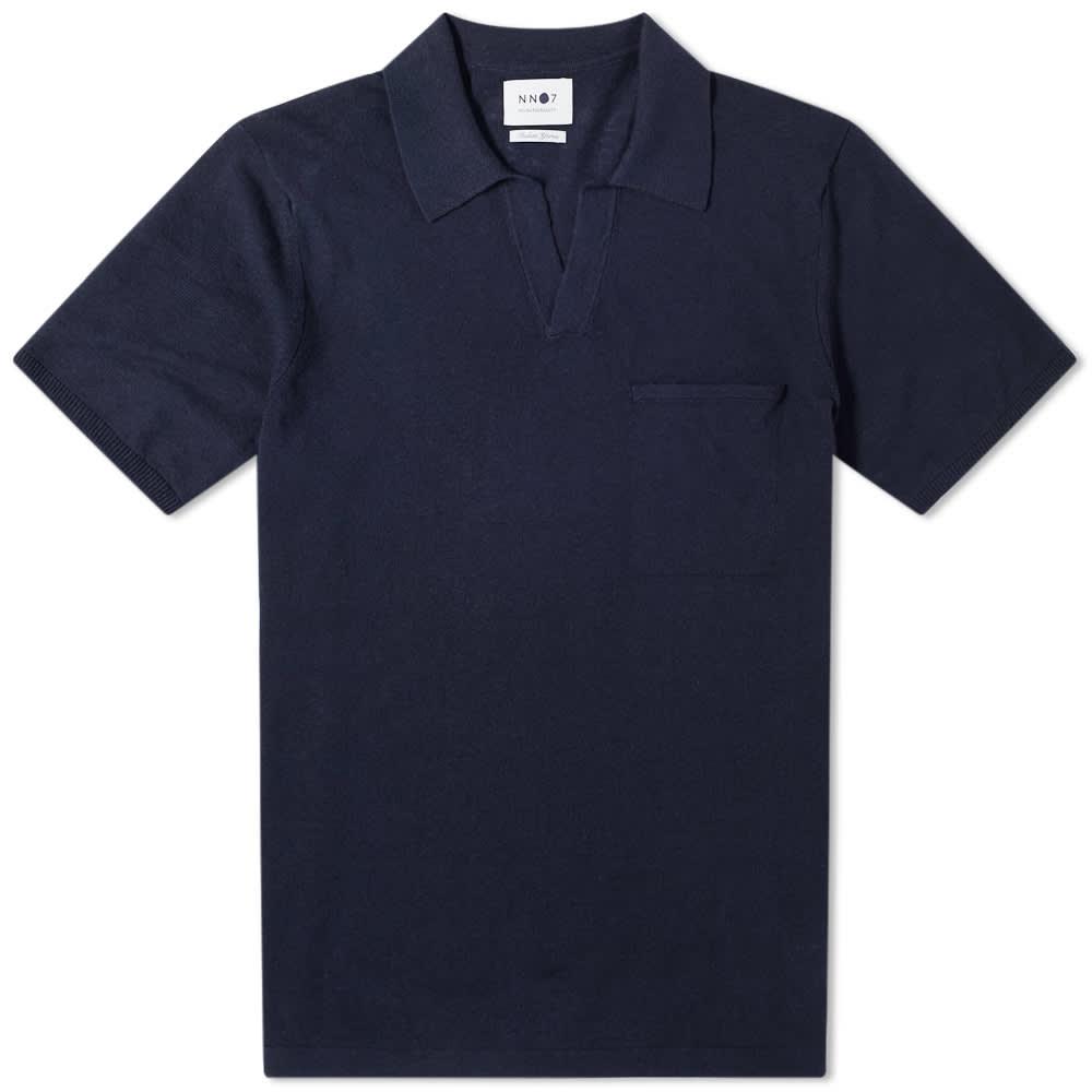 NN07 Ryan Polo - Navy Blue