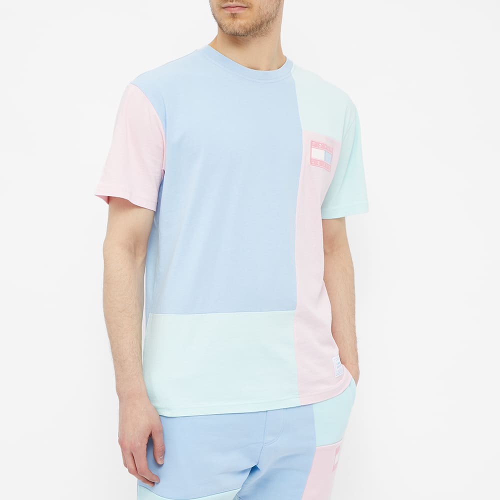 Tommy Jeans TJM Color Block Tee - Powdery Blue & Multi