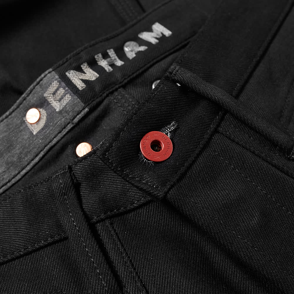 Denham Crossback Carrot Fit Made In Japan Jean - Black
