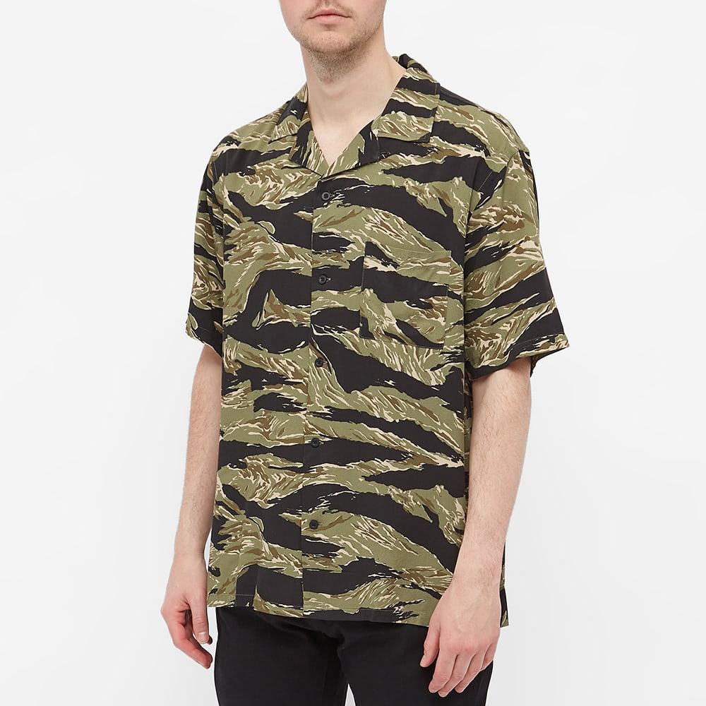 Denham Tiger Camo Vacation Shirt - Camo
