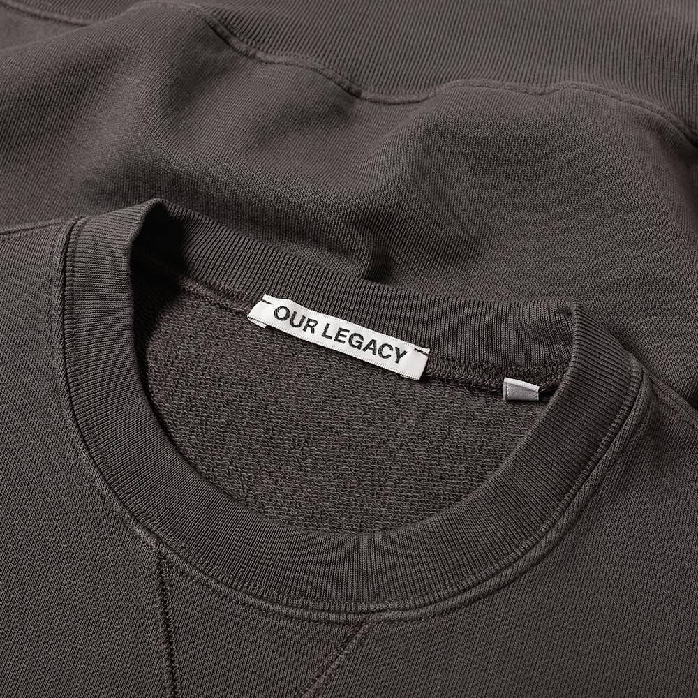 Our Legacy Base Sweat - Asphalt Grey Fleece