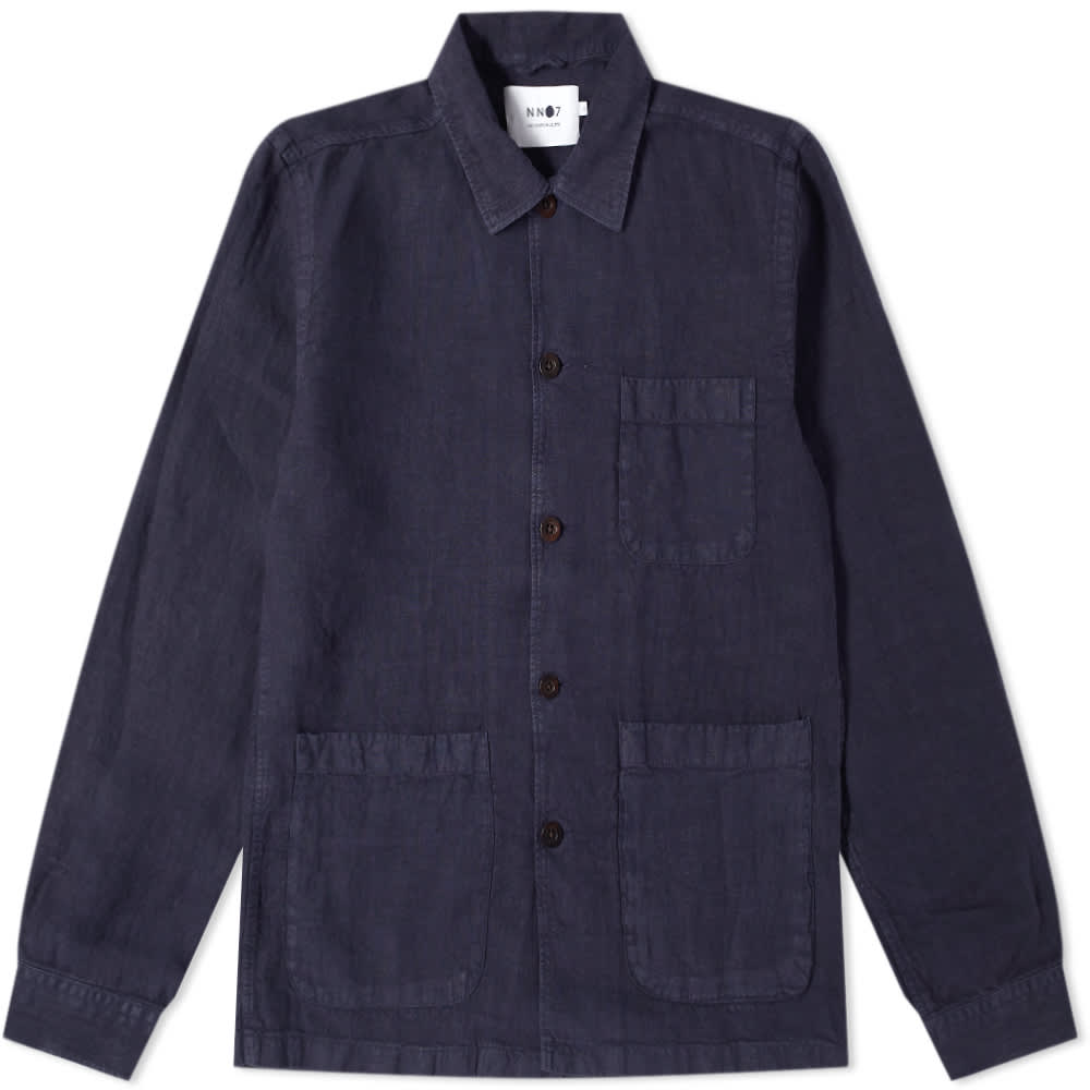 NN07 Robbie Chore Jacket - Blue