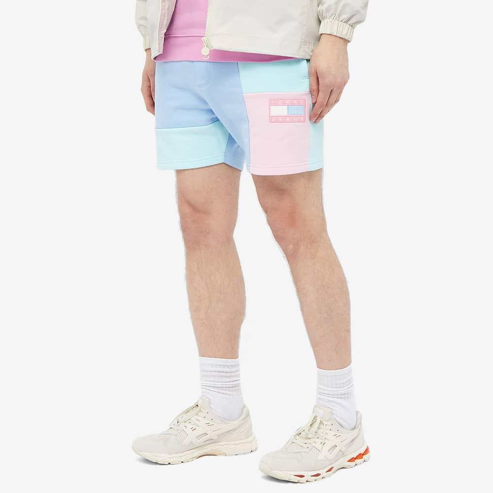 Tommy Jeans TJM Color Block Short - Light Powdery Blue