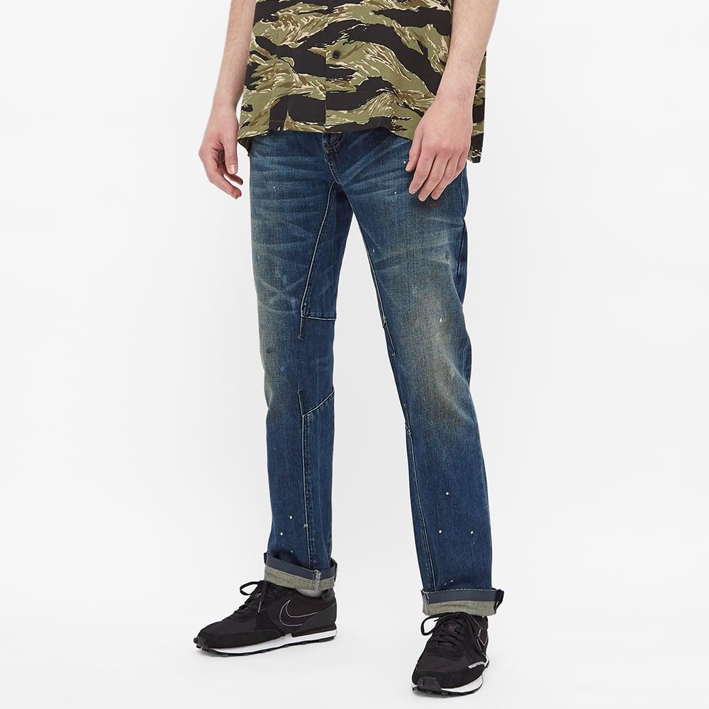 Denham E-Skin Slim Jean - Blue