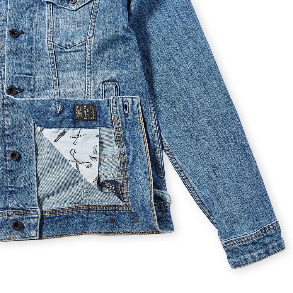 Denham Amsterdam Denim Jacket - Blue