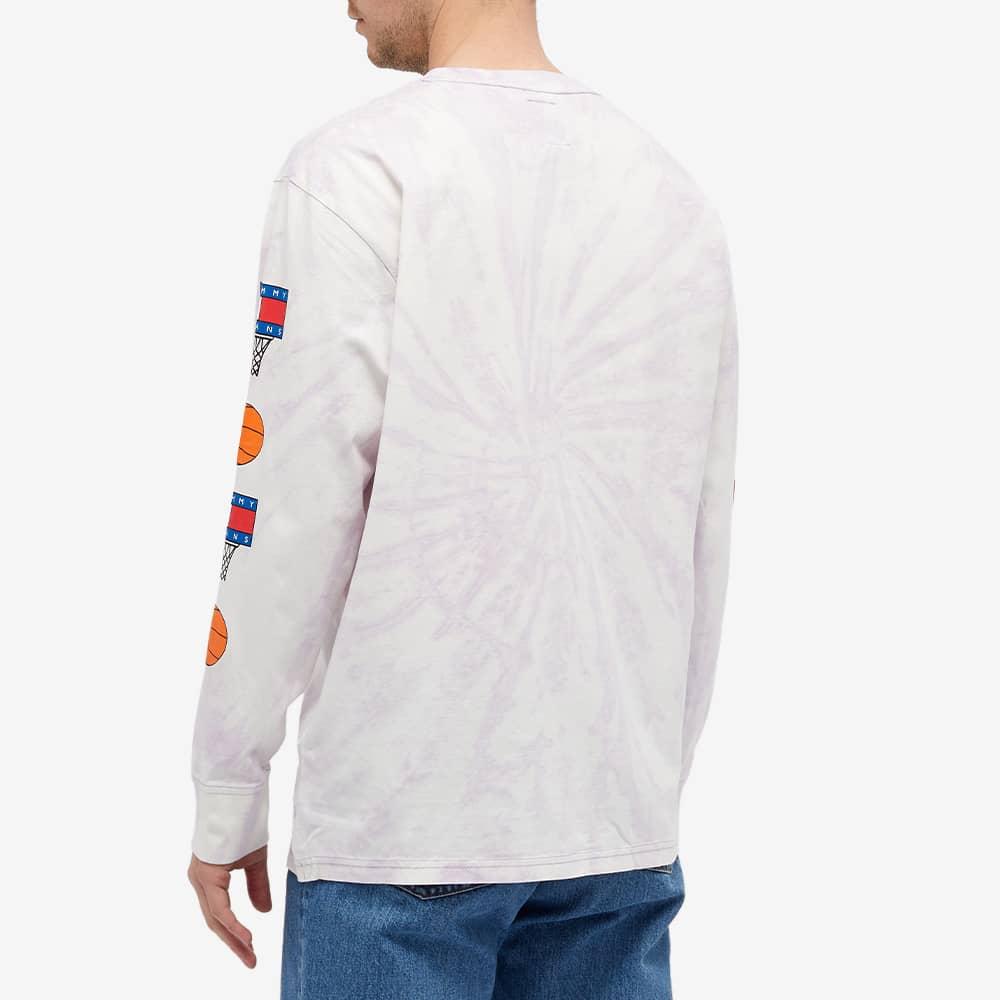 Tommy Jeans Long Sleeve Space Jam Tee - Tie Dye & Lilac Dawn