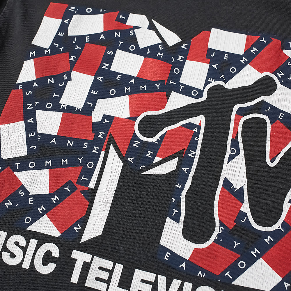 Tommy Jeans Mtv Tee - Blackout