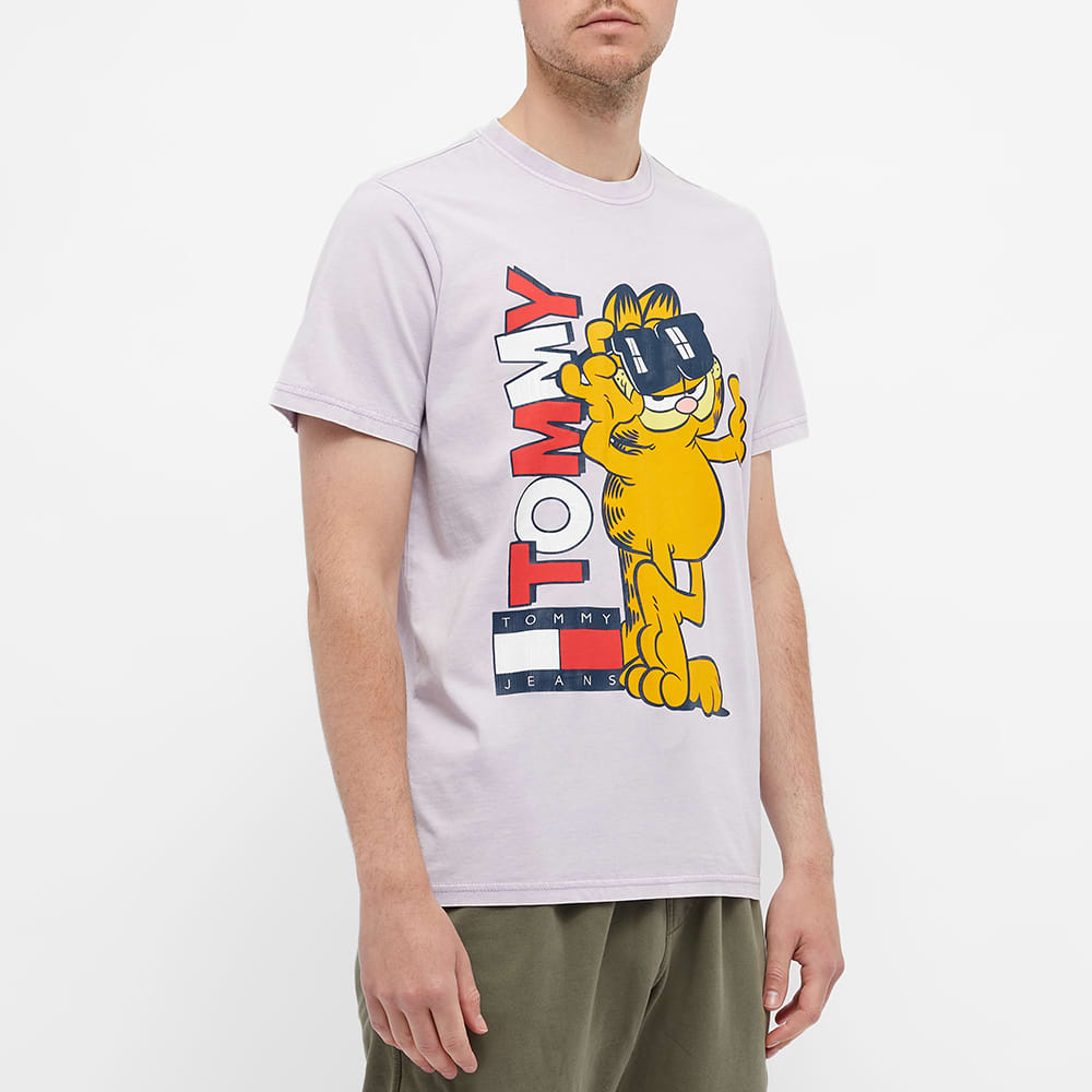 Tommy Jeans Garfield Tee - Lilac Dawn
