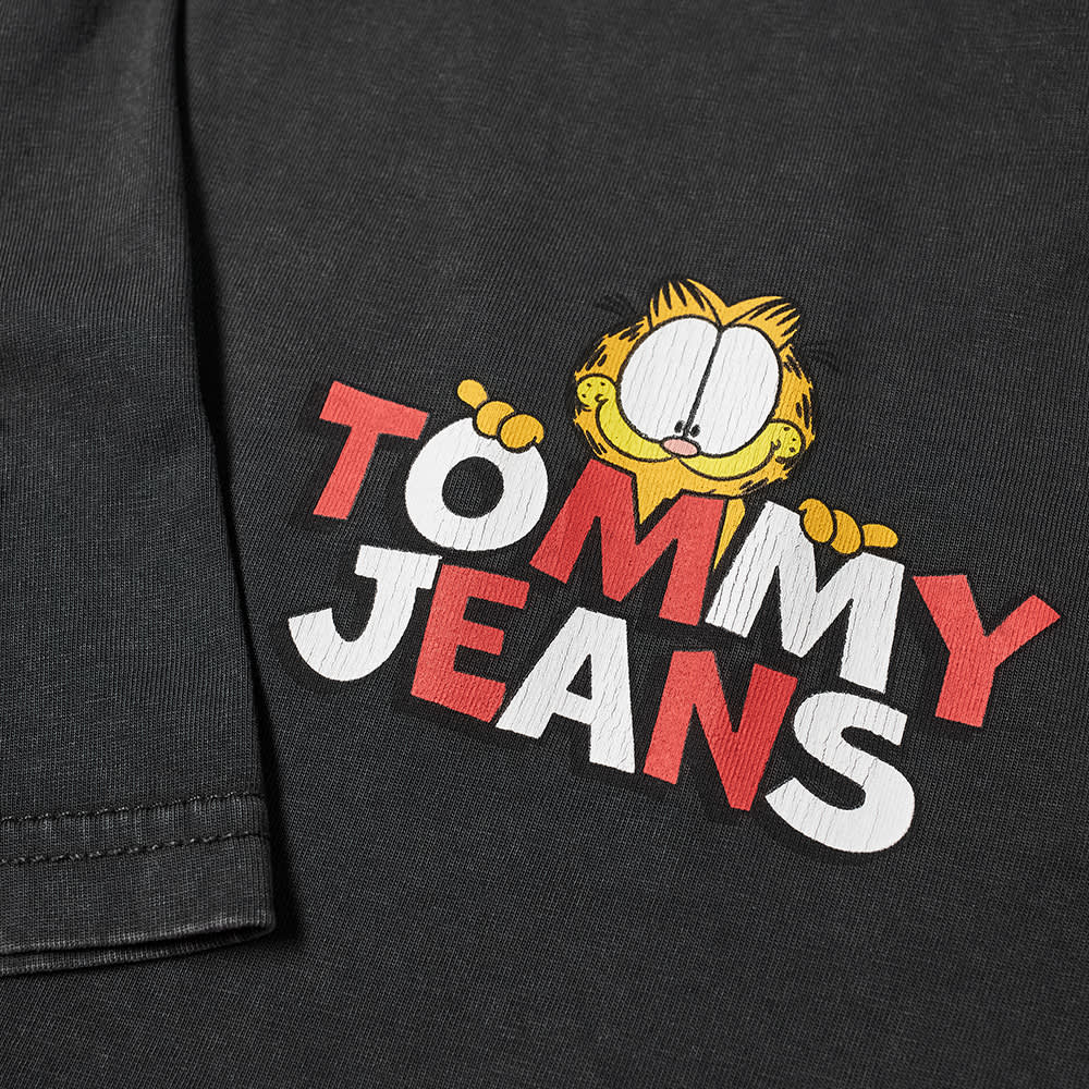 Tommy Jeans Garfield Front Back Print Tee - Blackout