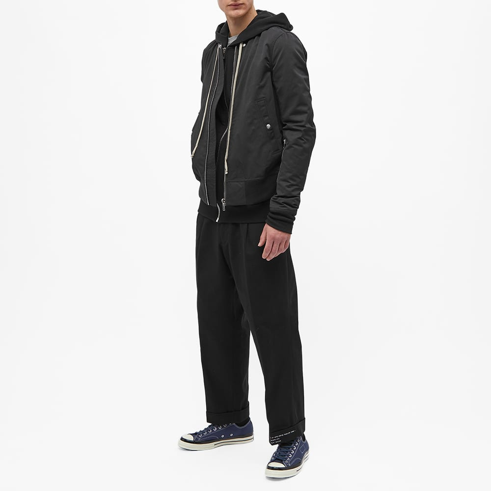 7 Moncler FRGMT Hiroshi Fujiwara Logo Chino - Black