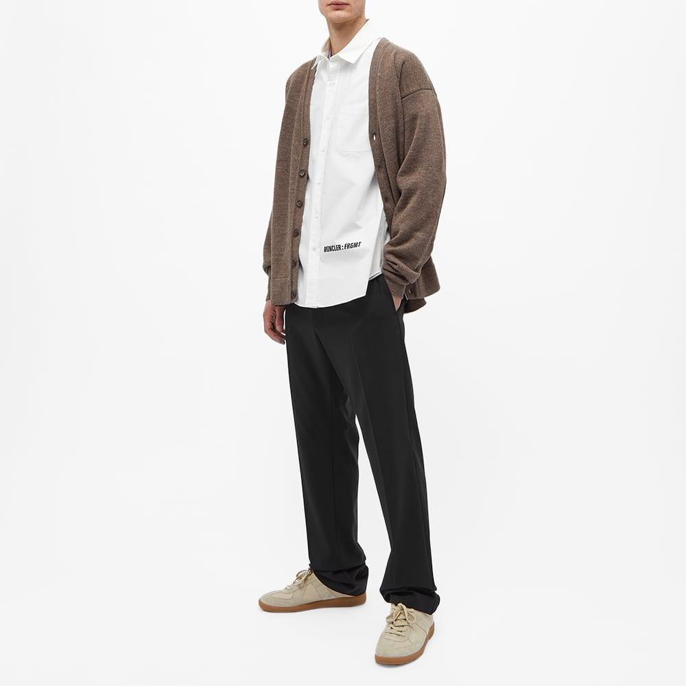 7 Moncler FRGMT Hiroshi Fujiwara Logo Poplin Shirt - White
